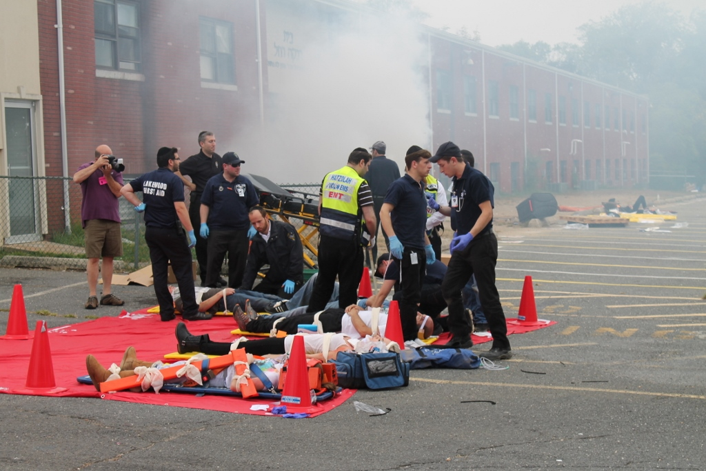 School Bomb Training Drill